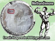 China Safe Metandienone Dianabol Steroids Raw Powder / Injectable Anabolic Steroid CAS 72-63-9 distributor